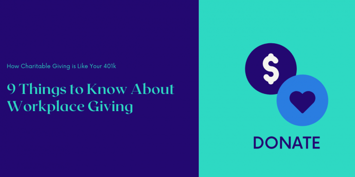The Employer Match: How Charitable Giving is Like Your 401k