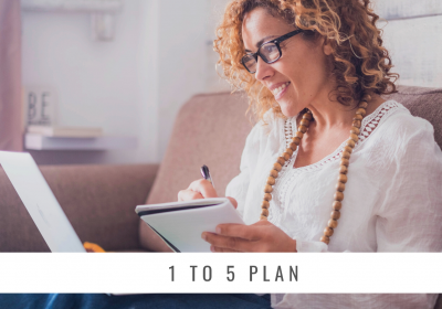 The 1 to 5 Plan for Easy Financial Planning